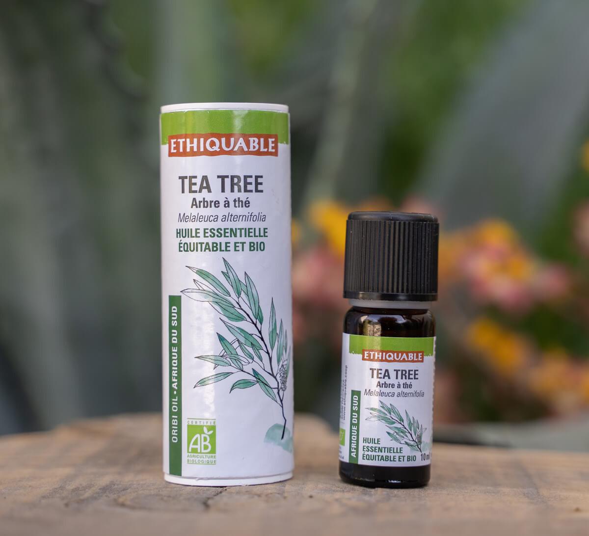 Ethiquable - Huile essentielle de Tea Tree bio issue du commerce équitable