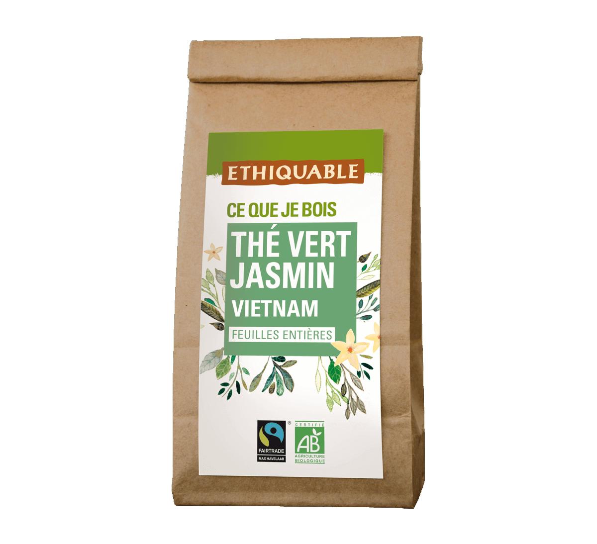 Pack vrac thé vert jasmin